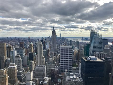 N Y Top best views of new york city from the rockefeller center at