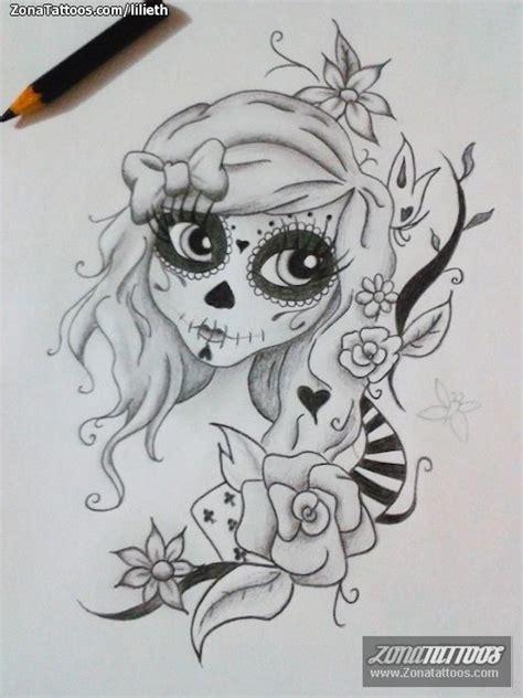 tattoos de catrinas dise 241 o de catrinas tatuajes un and http www