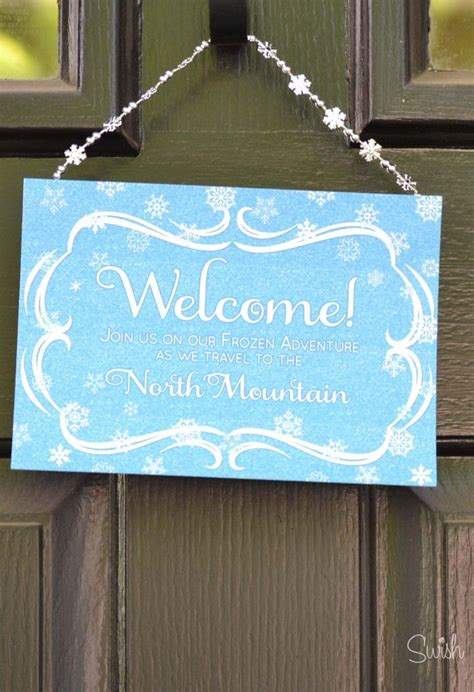 frozen printable welcome 138 best images about frozen on pinterest frozen