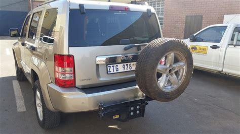 Jeep Commander Spare Tire Winch Jeep Commander Spare Wheel Tauro