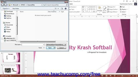 tutorial powerpoint 2013 youtube powerpoint 2013 tutorial recovering unsaved presentations