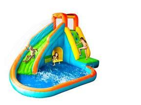 Backyard Basketball 2007 by Pics Photos Inflatable Kid Play Pool Inflatable Slide