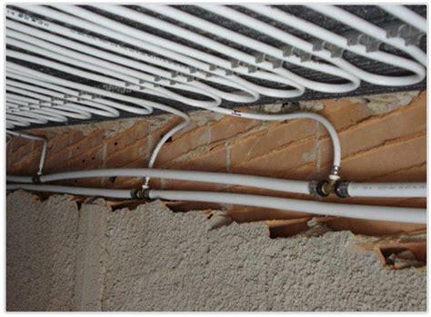 impianto a soffitto impianto riscaldamento e raffrescamento a parete o soffitto