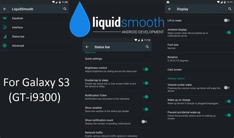 liquidsmooth themes galaxy s3 liquid smooth v4 android 5 0 2 for galaxy s3 gt i9300