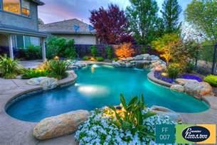 Backyard Grotto Freeform Swimming Pools Freeform Pool Designs