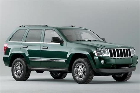 jeep models 2005 the top five jeep grand cherokee models of all time