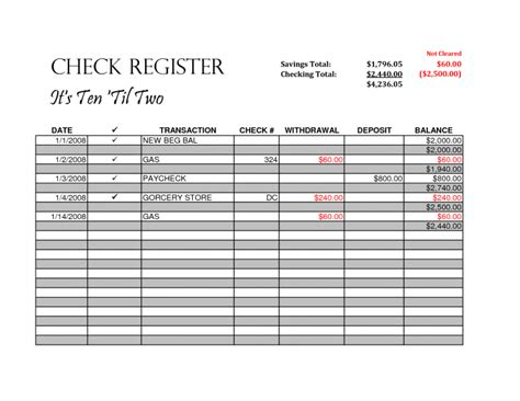 Check Template For Mac Template Check Register Template