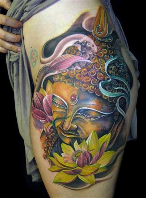 tattoo lotus buddha buddha and lotus tattoo colours tattoo pinterest