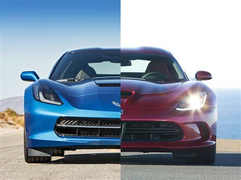 srt viper vs corvette friday chevrolet corvette stingray z51 vs srt