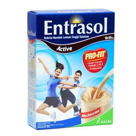 Entrasol Active 10 merk peninggi badan untuk anak dewasa