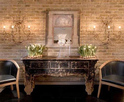 exposed brick wall ideas 10 images about rustic interior walls on pinterest