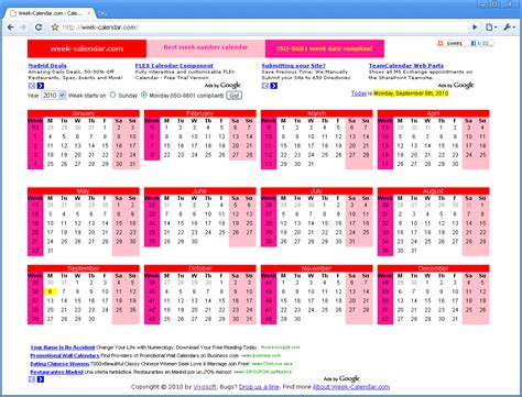 Calendar Week Excellent Weekly Calendar Business Intelligence