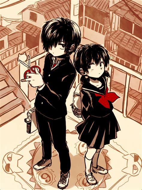 nazo no kanojo x tsubaki nazo no kanojo x zerochan anime image board