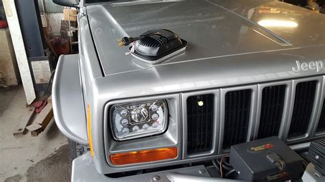 Jeep Xj Led Headlights 45w Led Headlight With Drl For Xj 100 A Pair Jeep