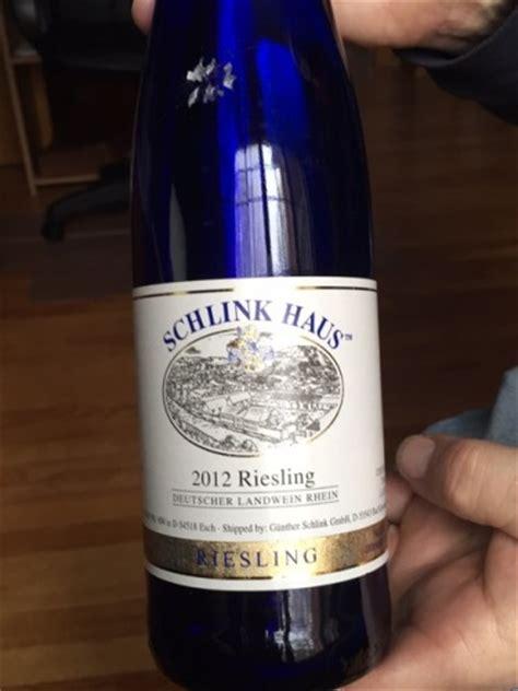 schlink haus wine sweet schlink haus nahe riesling 2012 wine info