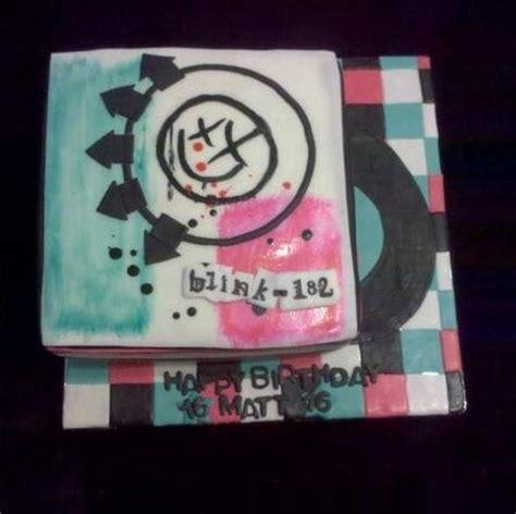 Blink 182 Birthday Card Blink 182 Cake Cake By Dequeenisdead Blink 182
