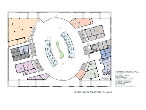 bus terminal floor plan design gallery of nevsehir bus terminal bahadir kul 8