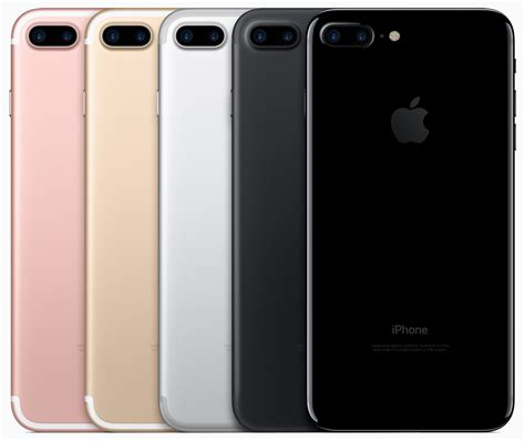 apple iphone 7 plus phone specifications comparison