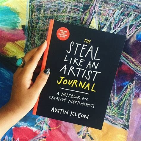 libro steal like an artist 80 best the steal like an artist journal images on artist journal illustration