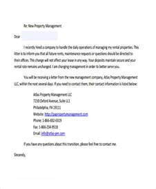 property management letter templates 7 property transfer letter template 7 free word pdf