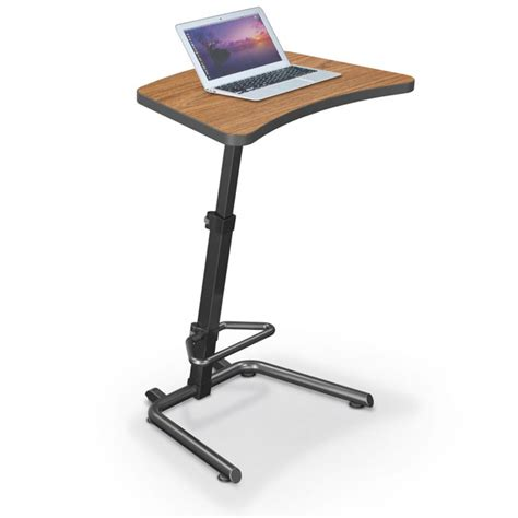 balt up rite student sit and stand desk 90532 stand up