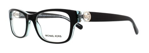 michael kors mk 8001 3001 black womens eyeglasses size 51