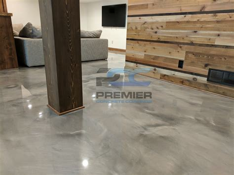 Metallic Marble Concrete   Epoxy Flooring   PCC Columbus, Ohio