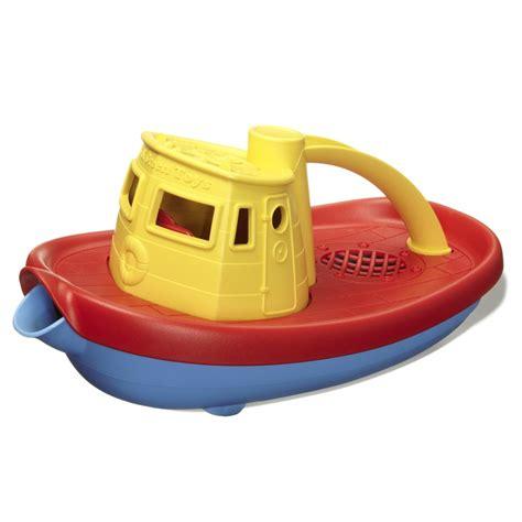 speelgoed boot van gerecycled materiaal green toys - Bootje Speelgoed