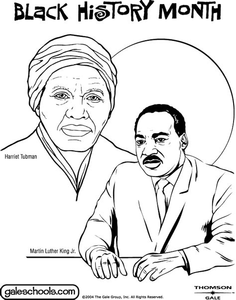 14 coloring pages of black history month print color craft