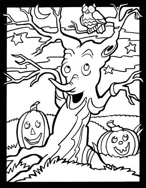 coloring pages of halloween stuff pictures of halloween stuff az coloring pages