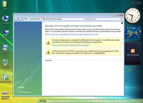 resetting hp recovery disc creation how to create recovery discs for windows vista in hp