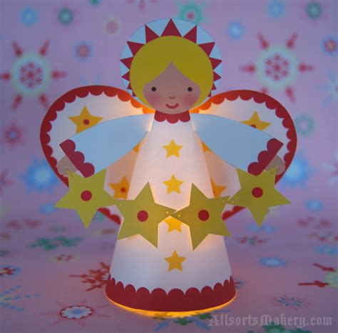 printable christmas angel decorations paper angel crafts 171 grandmother wren