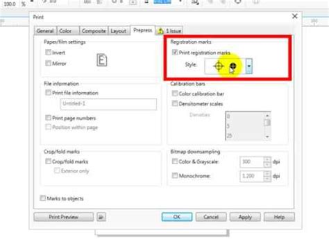 Tutorial Mastering Coreldraw 2 how to create registration marks in coreldraw x7 tips and trick tutorial and mastering