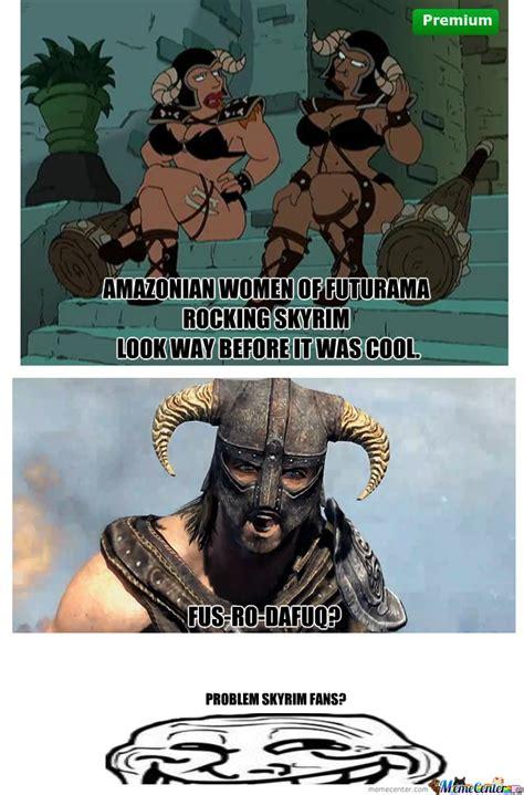 Skyrim Meme - mainstream skyrim by gotweasel meme center