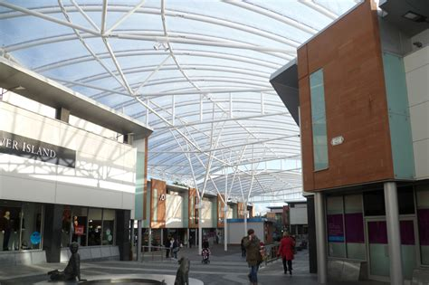 Canopy Shopping by Etfe Canopy Ayr Central Shopping Centre Architen Landrell