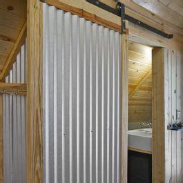 simple corrugated metal sliding barn door corrugated