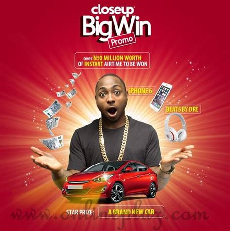 Win Instant Airtime Online - closeup big win promo 2015 how to win big