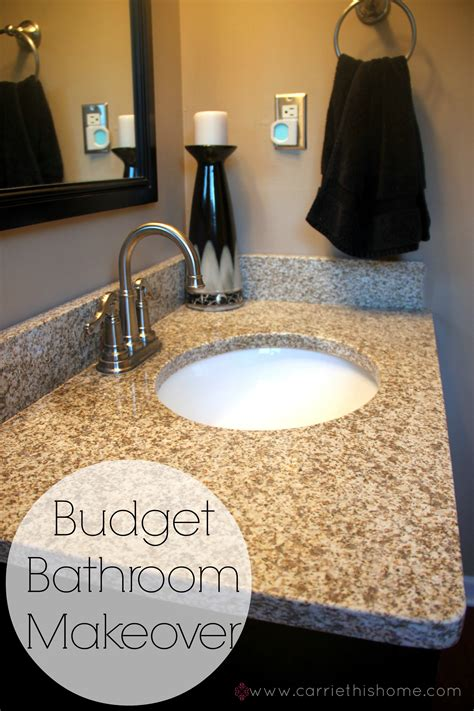budget bathroom makeover budget bathroom makeover