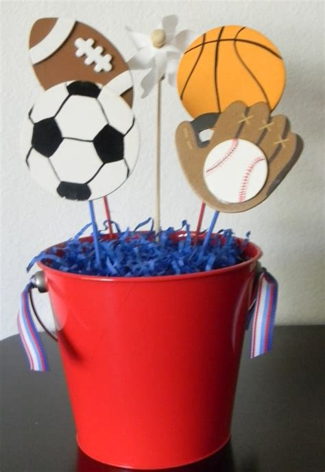 sports themed decorations pin by hoke on sports banquet ideas
