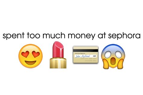 How Much Money Is On My Sephora Gift Card - how to speak emoji for the beauty obsessed beauty blitz