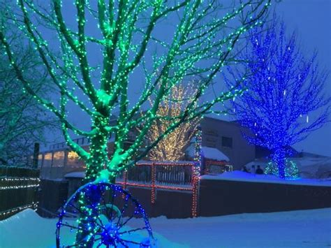 adventure park holiday lights lights picture of glenwood caverns adventure park glenwood springs tripadvisor