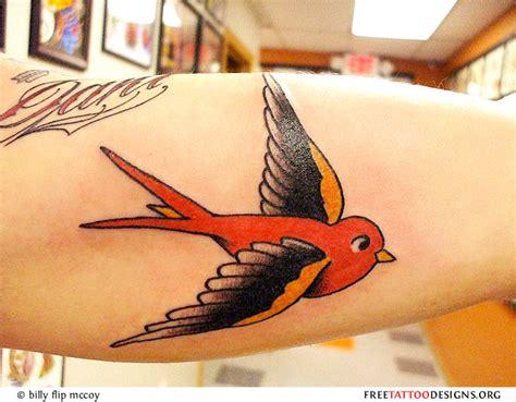 black sparrow tattoo sparrow on bicep