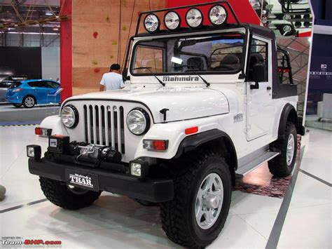 thar jeep white mahindra thar mdi thread more pics at page 24 page 13