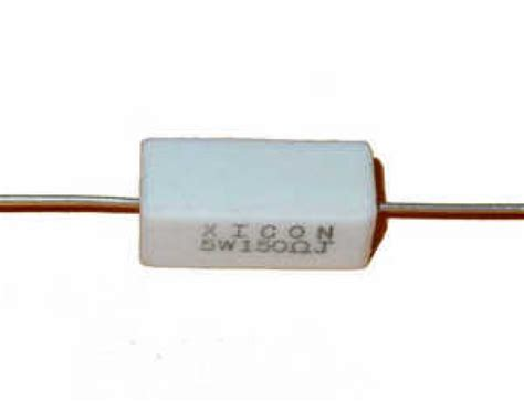 a resistor that is 1 8 inch in diameter and 3 8 inch is a resistor 5k ohm 5 watt 5 power resistor