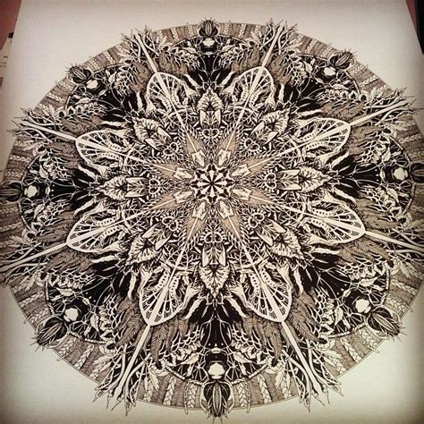 tattoo mandala london mandala illustration a3 prints available inkheart co uk