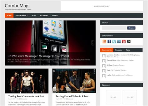 blogger magazine themes 2015 21 best free responsive magazine wordpress themes 2017