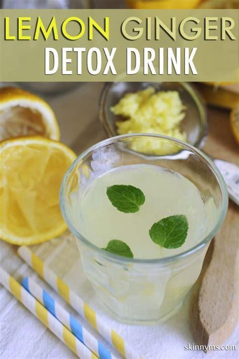 Detox For Bad B by Lemon Detox Drink Recipe The Lemons Glasses
