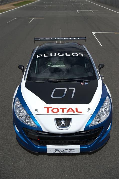 peugeot rcz race car unveiled video autoevolution