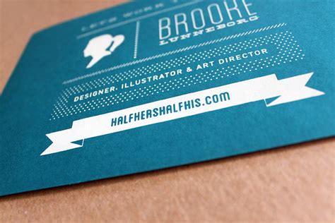 Oversized Business Cards