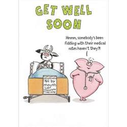 paperlink funny farm get well soon card temptation gifts